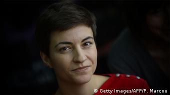 Η ευρωβουλευτής των Πρασίνων Σκα Κέλερ