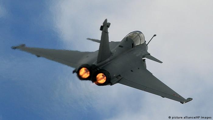 Rafale fighter jet (picture alliance/AP Images)