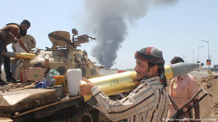Jemen Kämpfe Luftangriff auf Aden
