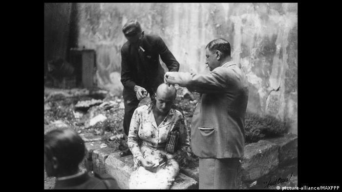 Frankreich Nachkriegszeit Bestrafung Kollaborateure