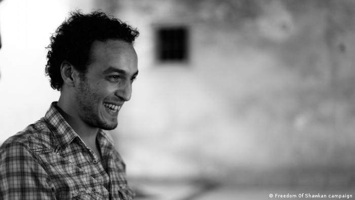 Egyptian photojournalist Mahmoud Abu Zeid
