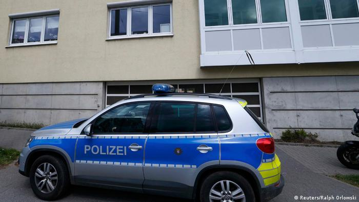 German police vehicle