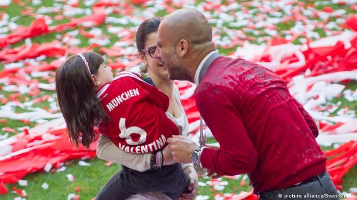Bildergalerie berühmte Sportler und ihre Kinder (picture alliance/Sven Simon)