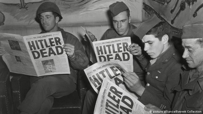 آدولف هیتلر از چندین ترور جان سالم به در برد تا اینکه پس از شکست ایدئولوژی برتری نژادی، شکست در جنگ جهانی که منجر به کشته و زخمی و آواره شدن میلیونها نفر و ویرانی بخش وسیعی از قاره اروپا شد در محاصره نیروهای متفقین در برلین قرار گرفت و با خوردن قرص سیانور و شلیک گلوله به سر خود به زندگیاش پایان داد.