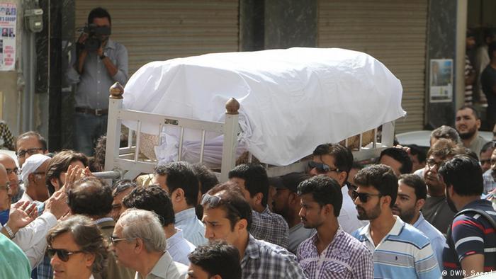 Pakistan Karachi Anschlag auf Frauenrechtsaktivistin Sabeen Mehmud