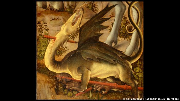 Bildergalerie Monster Heiliger Georg im Kampf mit dem Drachen AUSSCHNITT