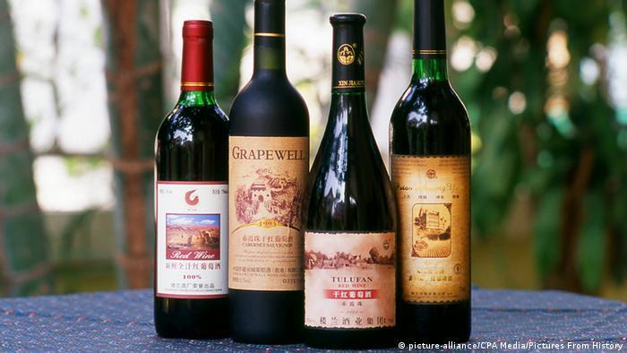 Wein aus Turpan China
