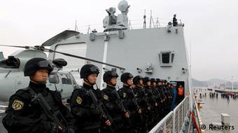 China Somalia Einsatz gegen Piraten