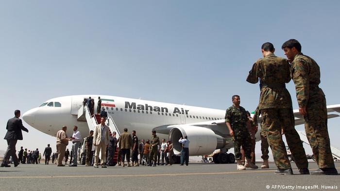 Jemen Luftangriff auf dem Flughafen in Sanaa (AFP/Getty Images/M. Huwais)