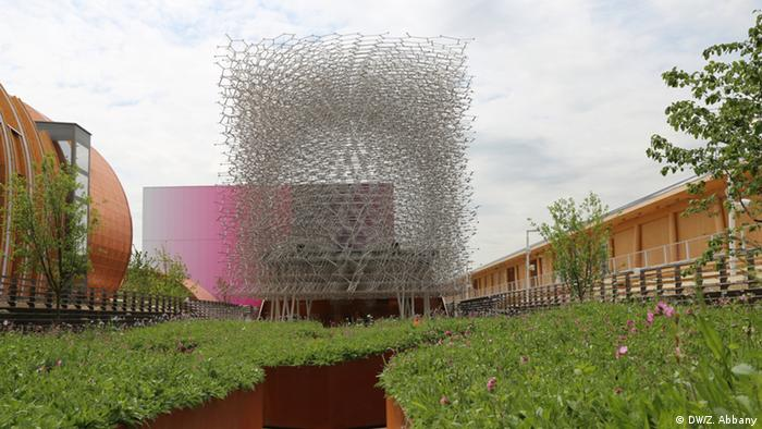 The UK Pavilion at Expo Milano 2015