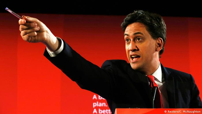 Labour-Chef Ed Miliband - Foto: Cathal McNaughton (Reuters)