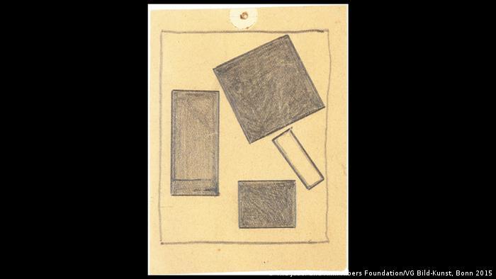 Kasimir Malewitsch: Ohne Titel (1915)