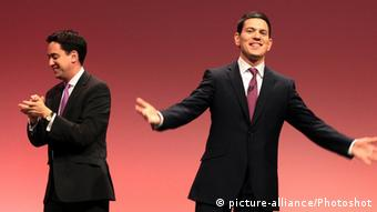 Ed und David Miliband Labour Party