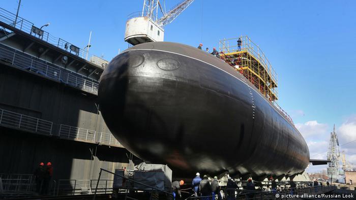 A Russian submarine
