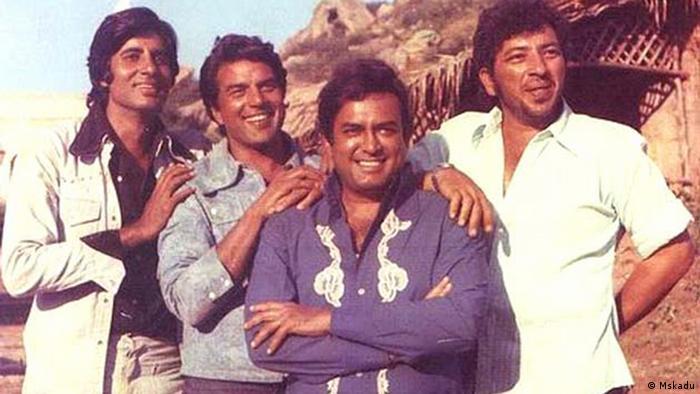 Sholay Bollywood Film 1975 EINSCHRÄNKUNG