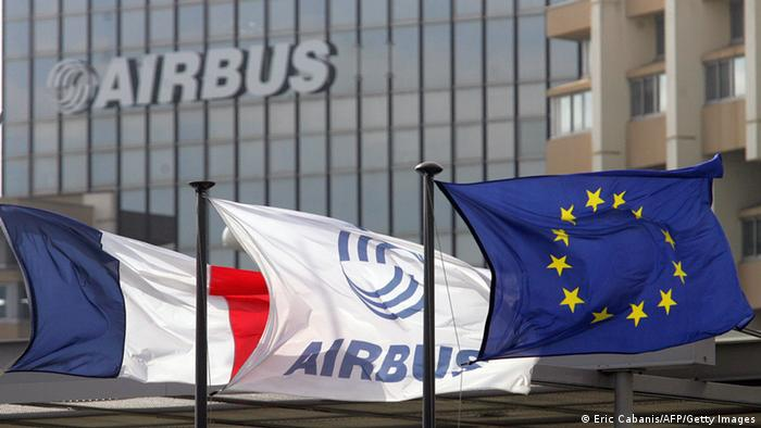 Airbus Logo (Eric Cabanis/AFP/Getty Images)