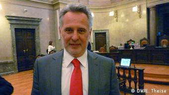 Österreich Verhandlung im Landesgericht für Strafsachen Wien