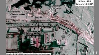 Nordkorea Yongbyon Atomreaktor