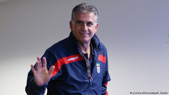 Iran Fußball Trainer Nationalmannschaft Carlos Queiroz (picture-alliance/dpa/A. Haider)