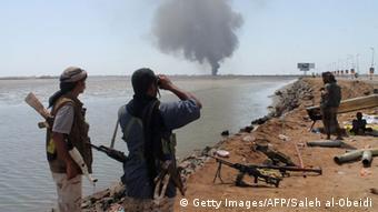Jemen Kämpfe bei Aden