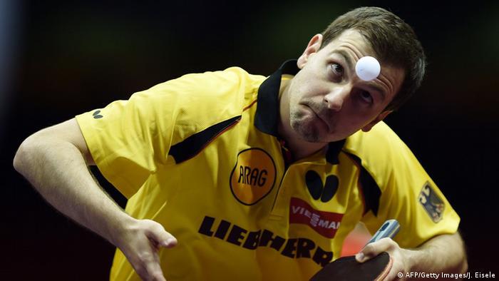 China Tischtennis WM 2015 Timo Boll