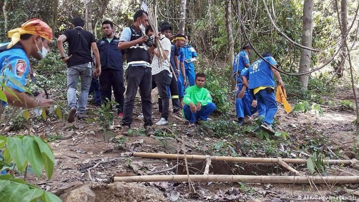 Thailand Massengrab mit Leichen von Flüchtlingen entdeckt