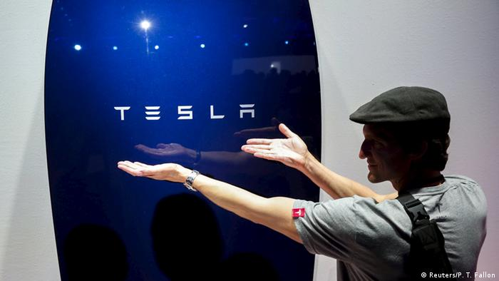 Tesla Energy Powerwall (Reuters/P. T. Fallon)