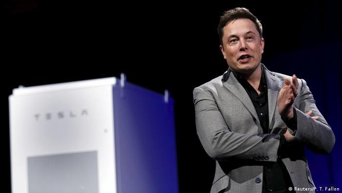 Tesla Energy Powerwall Elon Musk