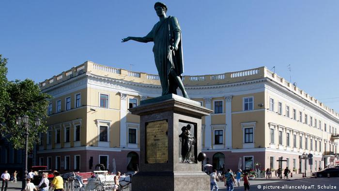 Памятник дюку Ришелье в Одессе