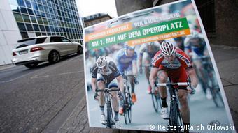 Frankfurt May Day Radrennen 01. Mai