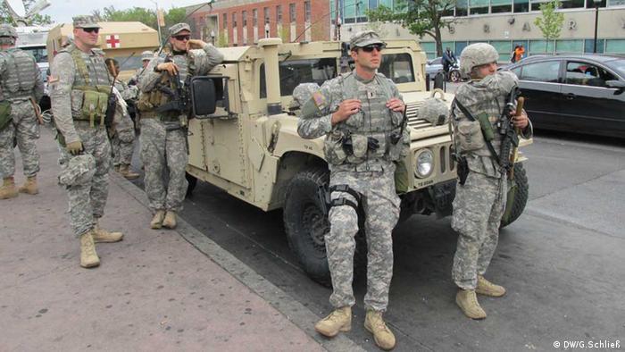 Baltimore / Nationalgardisten