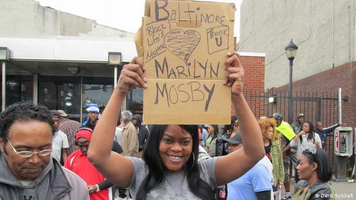 Baltimore, Mossieka Holness