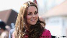 Großbritannien Herzogin Kate in London