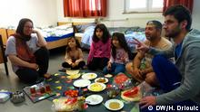 Flüchtlingsunterkunft Siegburg Familie aus Syrien