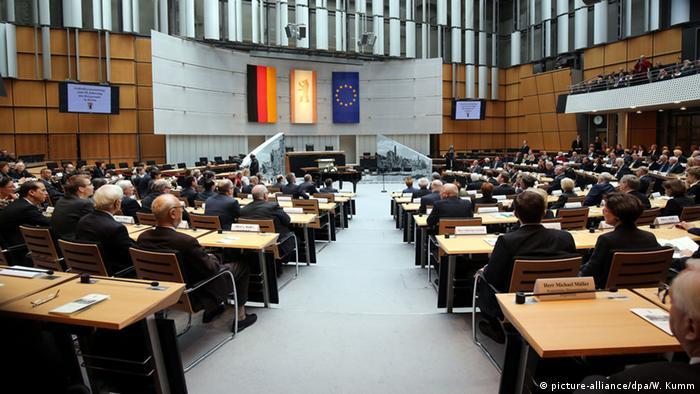 Deutschland Gedenkveranstaltung 70. Jahrestag Kriegsende in Berlin
