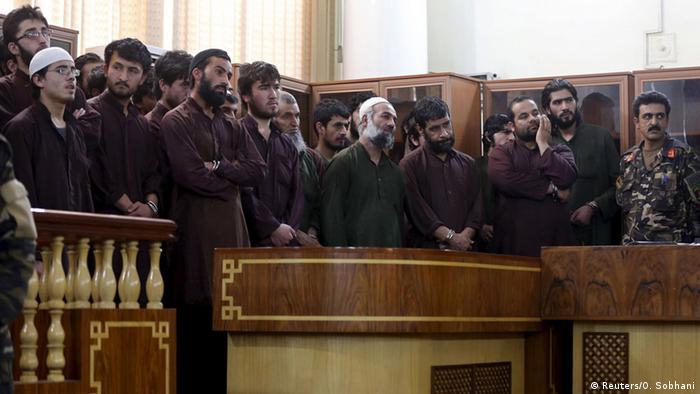 Afghanistan Prozess nach Lynchmord an einer Frau