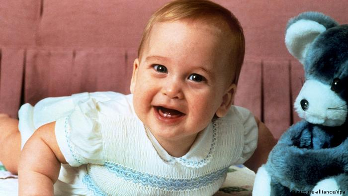 Prince William as a baby (picture-alliance)