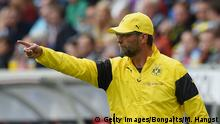 Fußball Bundesliga Hoffenheim vs Dortmund Klopp