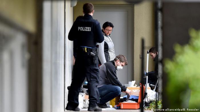 Oberursel Polizei Untersuchung geplanter Anschlag