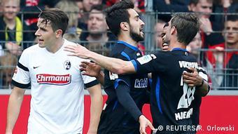 Fußball 1. Bundesliga Freiburg - Paderborn