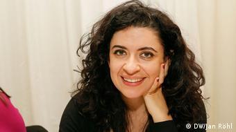 """Leila Nachawati: Leila Nachawati: """"Este proyecto nos muestra como a través de creatividad, innovación y medios, se puede reflejar de forma artística una situación tan trágica."""""""