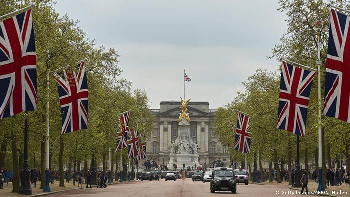 Großbritannien London Geburt Royal Baby Buckingham Palace