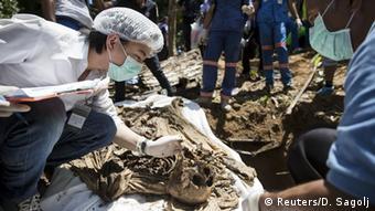 Thailand Massengrab Migranten (Reuters/D. Sagolj)