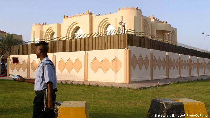 Katar Doha Taliban Vertretung (picture-alliance/AP Photo/O. Faisal)