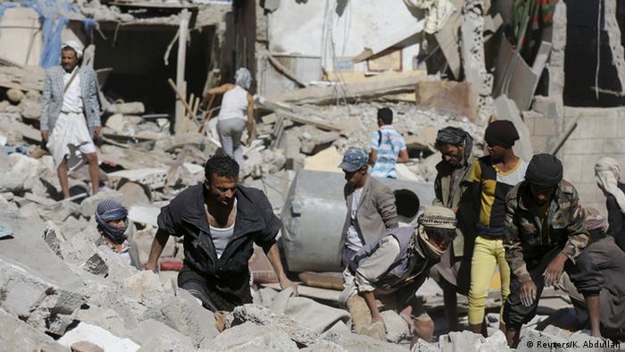 تا کنون صدها غیرنظامی در درگیری خونین یمن کشته شدهاند