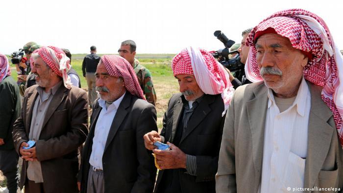 Symbolbild Irak Freigelassene Jesiden Männer Opfer Islamischer Staat