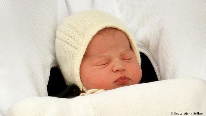 Großbritannien London Geburt Royal Baby Präsentation