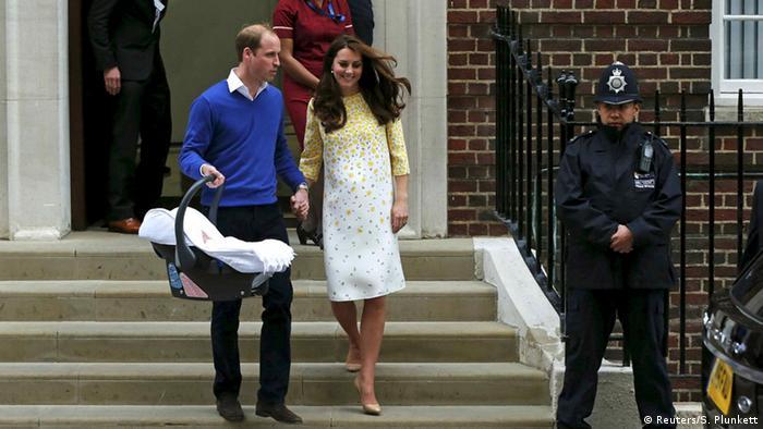 Großbritannien London Geburt Royal Baby Krankenhaus