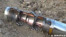 Human Rights Watch Streubomben Jemen