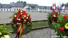 Вінки на знак вшанування пам'яті загиблих в Дахау
